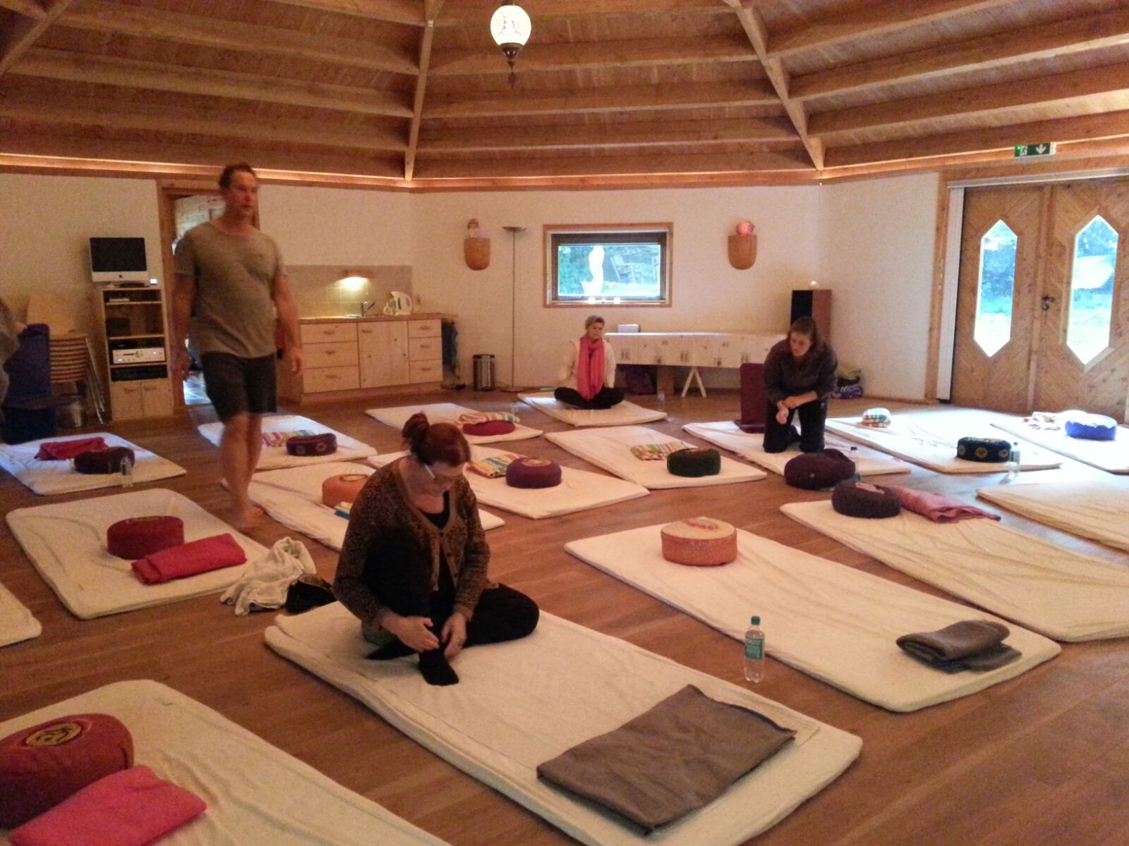 Yoga en Mindfulness Weekend Retraite in Heerde 2015