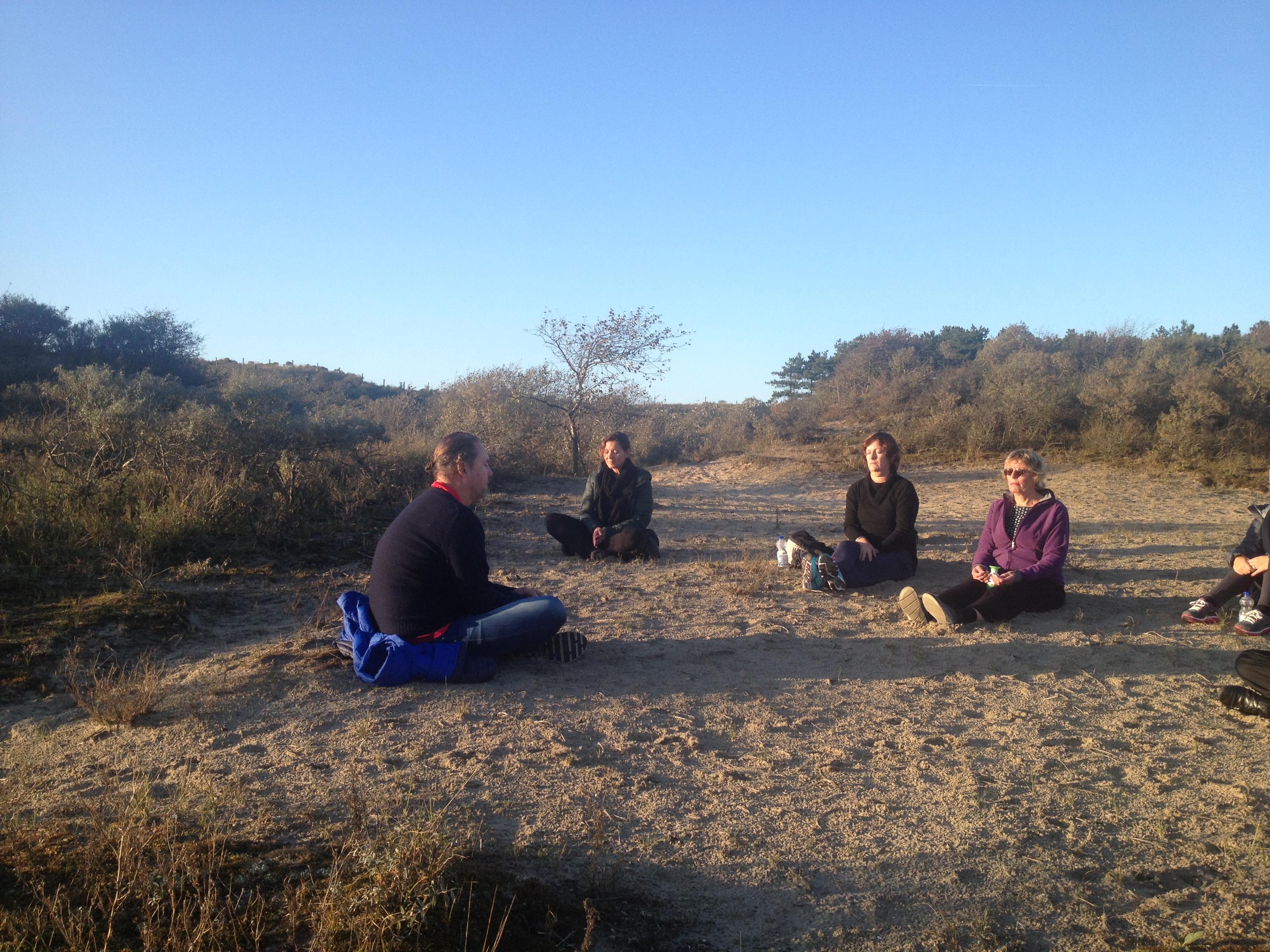Yoga en Mindfulness Retraite in Wassenaar Oktober 2016