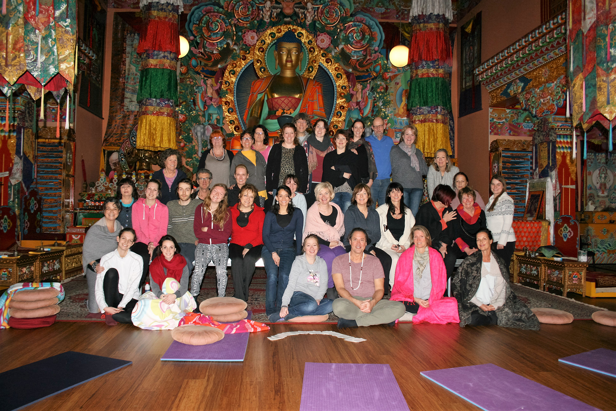 Yoga en Mindfulness Retraite in Huy Maart 2016