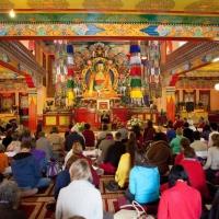 Klik om meer te weten over Yoga en Mindfulness weekend in Tibetaans klooster 'Stress Reductie'