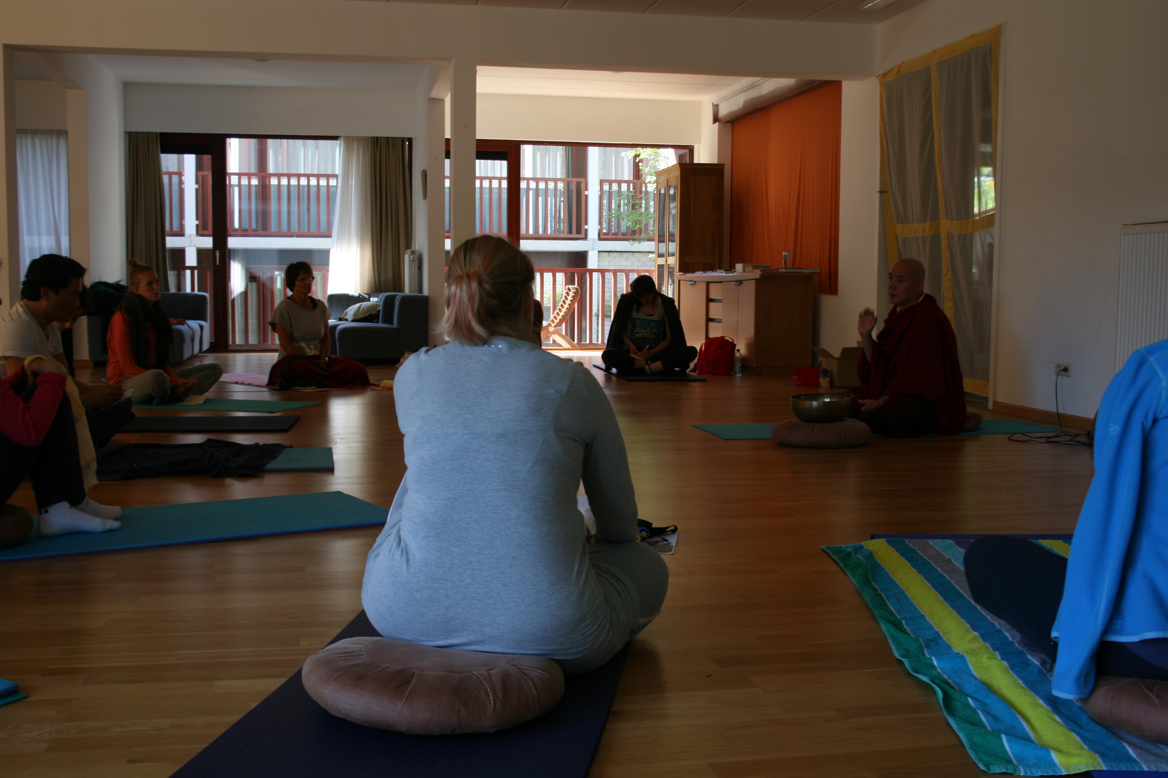 Yoga weekend mei 2013